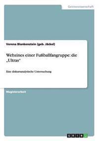 Webzines Einer Fuballfangruppe