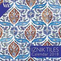 V&A Iznik Tiles - mini wall calendar 2018 (Art Calendar)