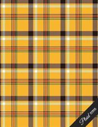 Plaid Notebook Collection: School Writing Composition Notebook/Journal/Diary Gift (10) 100 Pages, 8.5 X 11
