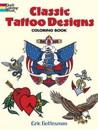 Classic Tattoo Designs Coloring Book