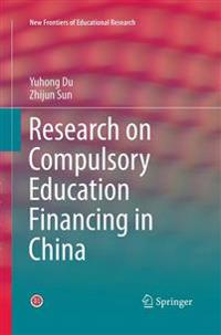 Research on Compulsory Education Financing in China
