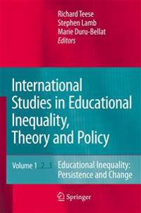 International Studies in Educational Inequality, Theory and Policy Set