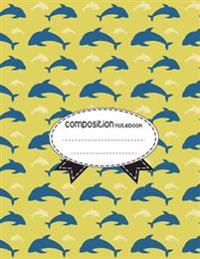 Composition Notebook, 8.5 X 11, 110 Pages: Nautical-Elements4: (School Notebooks)