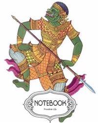 "Notebook Journal Dot-Grid, Lined, Blank No Lined: Ramayana: Pocket Notebook Journal Diary, 120 Pages, 8"" X 10"" (Notebook Journal)"