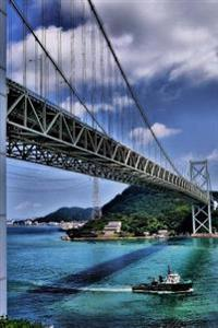 Bridge in Shimonoseki, Japan Journal: Take Notes, Write Down Memories in This 150 Page Lined Journal