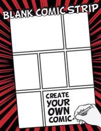 "Blank Comic Strip: 8.5"" by 11"" (Large Print) - Over 100 Stagged 7 Panal - Gift for Kids Drawing Your Own Comic Journal Notebook - Vol.7:"