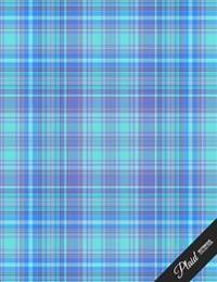 Plaid Notebook Collection: School Writing Composition Notebook/Journal/Diary Gift (5) 100 Pages, 8.5 X 11
