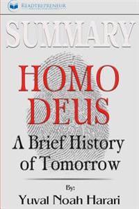 Summary: Homo Deus: A Brief History of Tomorrow