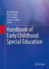 Handbook of Early Childhood Special Education