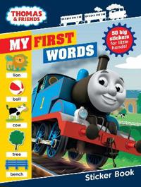 Thomas & Friends  My First Words Sticker Book - Egmont Publishing UK - böcker (9781405288941)     Bokhandel