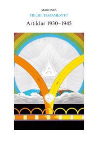Artiklar 1930-1945