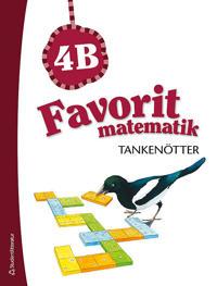 Favorit matematik Tankenötter 4B, 5-pack