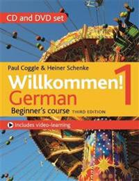 Willkommen! 1 (Third Edition) German Beginner's Course: CD and DVD Set (CD & DVD) Audio CD, Audiobook, CD, Unabridged