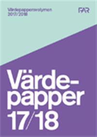 Värdepappersvolymen 2017/18