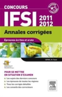 Annales corrigees Concours IFSI 2011-2012