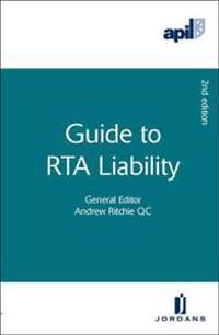 Apil Guide to Rta Liability: Second Edition
