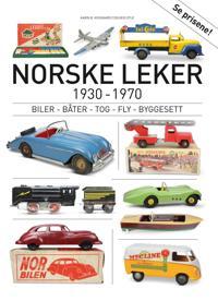 Norske leker 1930-1970; biler, båter, tog, fly, byggesett