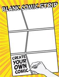 "Blank Comic Strip: 8.5"" by 11"" (Large Print) - Over 100 Stagged 6 Panal - Gift for Kids Drawing Your Own Comic Journal Notebook - Vol.5:"