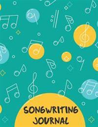 Songwriting Journal: Lyrics Notebook - 8.5x11 with 108 Pages - Lined Ruled Journal for Writing and Inspriration Notebook: Songwriting Journ