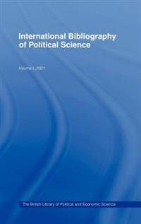 International Bibliography of Political Science/Bibliographie International De Science Politique 2001