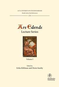 Ars Edendi Lecture Series