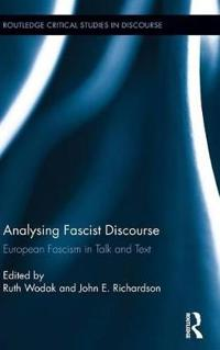 Analysing Fascist Discourse