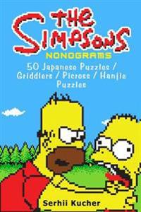 The Simpsons Nonograms: 50 Japanese Puzzles / Griddlers / Picross / Hanjie Puzzles