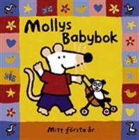 Mollys Babybok : mitt första år