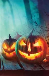 Journal: Spooky Jack O'Lanterns (Halloween Journal): Lined Journal, 110 Pages, 5.5 X 8.5, Jack O'Lanterns, Halloween, Soft Cove