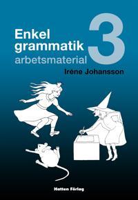 Enkel grammatik - arbetsmaterial