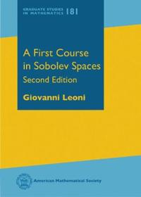 A First Course in Sobelev Spaces