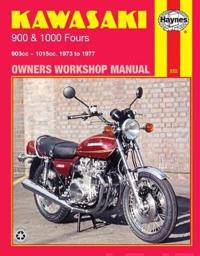 Kawasaki 900 and 100 Fours Owners Workshop Manual 1973 to 1977