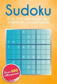 Sudoku : över 650 utmaningar med stegrande svårighetsgrad