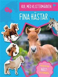 Kul med klistermärken : Fina hästar