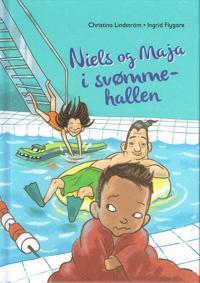 Niels og Maja i svømmehallen