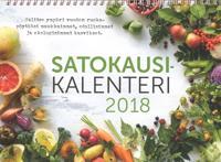 Satokausikalenteri 2018 (seinäkalenteri)