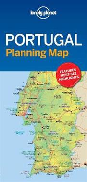 Lonely Planet Portugal Planning Map Lonely Planet Kartta