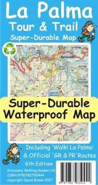 La Palma TourTrail Super-Durable Map