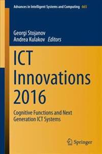 ICT Innovations 2016