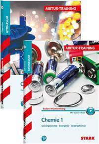 Abitur-Training - Chemie 1+2 Baden-Württemberg mit Videoanreicherung Vorteilspaket 84731V + 84732V