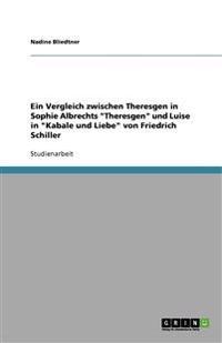 Ein Vergleich Zwischen Theresgen in Sophie Albrechts Theresgen Und Luise in Kabale Und Liebe Von Friedrich Schiller