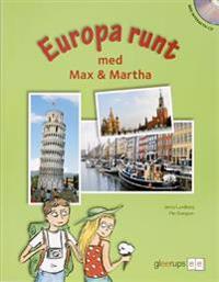 Europa runt m Max o Martha Bok+CD