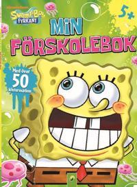 Svampbob min förskolebok : med klistermärken