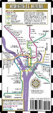Streetwise Map Washington D.C - Laminated City Center Street Map of Washington D.C Metro