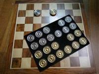 Damspel Marker-Checker Set