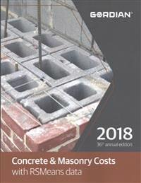 Concrete & Masonry Cost with RSMeans Data