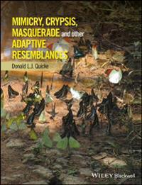 Mimicry, Crypsis, Masquerade and other Adaptive Resemblances