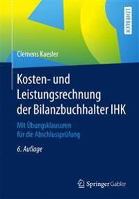 Kosten- Und Leistungsrechnung Der Bilanzbuchhalter Ihk