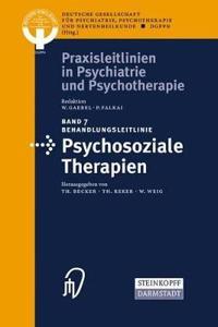 Behandlungsleitlinie Psychosoziale Therapien