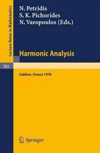 Harmonic Analysis 1978